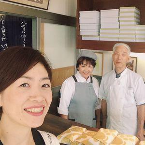 社長さんと柴田さんとパチリ
