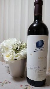 OPUS ONE・・・ 憧れのワイン。