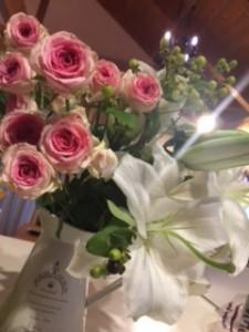 アリオスからお花