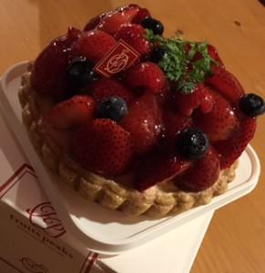 2016誕生日ケーキ