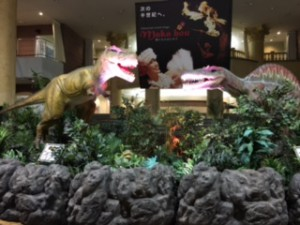 ハワイアンズ恐竜