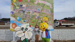 ゆりかちゃん(左)と ゆず太郎(右)