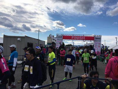 13:58 フルマラソンまだまだみなさん頑張っております!完走おめでとうございます!