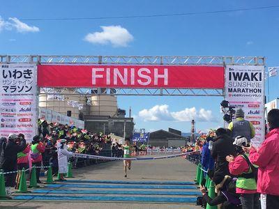 11:30 男子トップ!!大橋選手!フィニッシュ!!おめでとうございます\(^ω^)