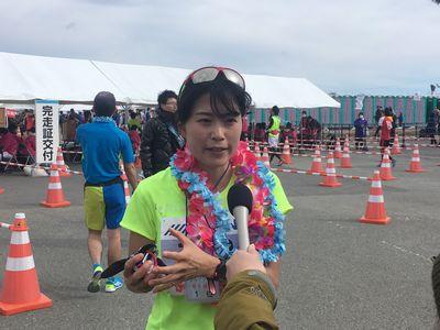 12:02 サンシャインマラソン初参加の永田選手! 喜びの声をインタビュー♪