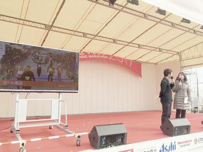 13:39 FMいわきの生放送とゴールの風景と…メインステージではいろんなことを楽しめます!