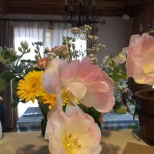 花束チューリップの