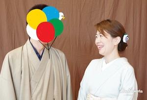 加賀友禅大使のみなさんに、とても素敵な加賀友禅を着せて頂きました^^