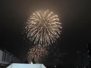 7年ぶりに開催された富岡夏まつり。LIGHT UP NIPPONの協力で1500発の花火が打ち上げられました。