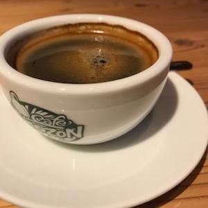 足元ぐちゃぐちゃで冷えた体に、コーヒーの温かさがしみました!