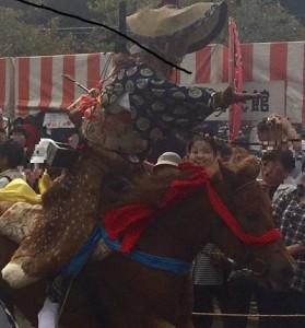 古殿八幡神社例大祭・流鏑馬大会秋の陣・ やぶさめフェア