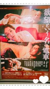 そしてそして!次の日は渋谷のシアターコクーンへ。大竹しのぶさん主演の『欲望という名の電車』を観劇。 これは自分へのクリスマスプレゼントです💓 初めて大竹しのぶさんの舞台を生で拝見しました。 感想をうまく表現できないのが悔しいですが、女優大竹しのぶが演技をしていた、のではなく、彼女はブランチ(役)として舞台の上で生きていました。 北村一輝さんも、鈴木杏さんも、みんな生きていました。 感動しました。 今年は久しぶりにお芝居に触れた一年でした(*^^*)