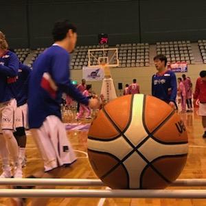 福島ファイヤーボンズvs熊本ヴォルターズ。1勝1敗。でも両日1,000名超えで、会場は盛り上がりましたよ!