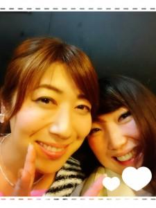 とあるプチイベントで、寿惠さんとバッタリ(*^▽^*)せっかくなので木曜チームでパシャリ📷✨