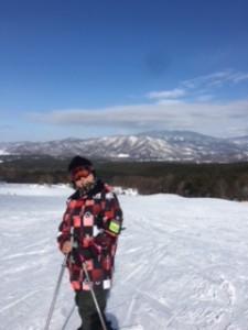 裏磐梯スキー1