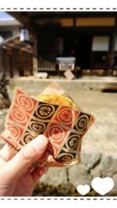会津では『きんつば』っていうんですよね。きんつば・・・。きんつば・・・。とても美味しかったです!