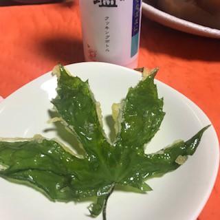 まずは天ぷらで、翌朝にはおひたしに。最後は炒めて!