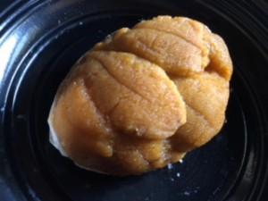 ウニの貝焼き1