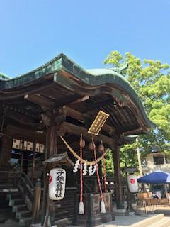 昨年引越した地域の産土神社がこちらとお聞きして、ようやく参拝。神様にご挨拶してきました。
