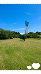 秋晴れの爽やかな日。 三崎公園へ。 のんびり散歩してきました。 本当に気持ちよかった!! まさか、このあとにこんなに残暑が厳しくなるなんて・・・。