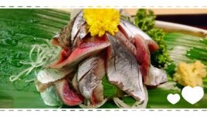 ☆おまけ☆ 私の大好きな秋の味覚!!秋刀魚の刺身♡♡ 昨年はギリギリでしたが、 今年は早く味わえました( *´꒳`* ) とっっっっても美味しかったぁ~♡♡