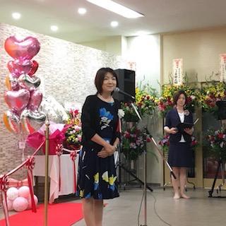 いわき健康センターさんの中に、温楽(おら)というフィットネススタジオがオープン。宮野社長が思いを熱く語られました。