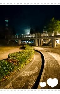 アリオスから見えたお月様🌙*.。