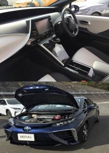 エコカー水素燃料電池車『MIRAI』