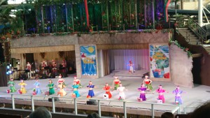 旅の締めはハワイアンズ♡お風呂とショーを堪能しました。ショーはクリスマスバージョン🎄🎁💕私もクリスマスバージョンは初めてでしたヽ(*´∀`)ノ