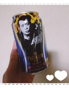 スーパーに陳列された中に1缶だけ発見!!👀!! 永ちゃん(矢沢永吉)デザインのプレモル✨ STAY ROCK 特別デザインなんだとか❣