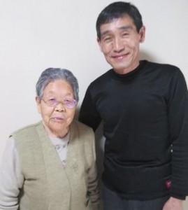鈴木トヨノさんと三味線奏者の髙橋実さん。ありがとうございました。