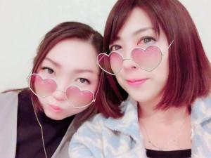 先週ラジピタ卒業した寿恵さんと❤木曜コンビ❤ 寿恵さんの新番組お楽しみに(≧▽≦)