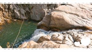 以前紹介した民話のコーナーでも登場した「篭場の滝」 滝はず~っと眺めていられます😊