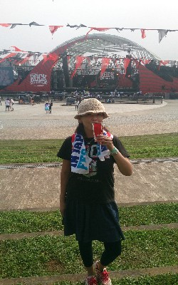 大好きな夏フェス! RockInJapan♪ 夏と音楽と生ビールの組み合わせって、なんて最高なんだ!(笑)