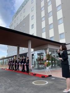 ホテル蓬人館オープン!富岡町小浜地区です。