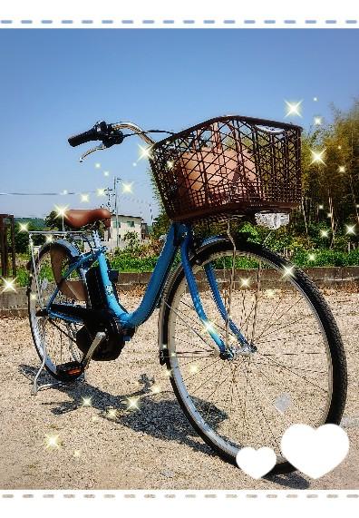 念願の新車を購入しましたよ!電動アシスト付き自転車✨ ちょっと高かったけど、無駄にならないように、大切に乗り回します!!