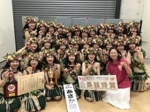 18日に行われた「第9回フラガールズ甲子園」。あさか開成高校ALOHAのみなさんが初優勝!おめでとうございます!