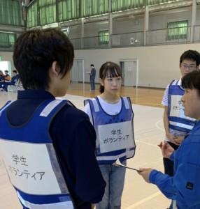 令和元年原子力防災実動訓練4高校生