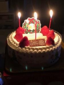 クリスマスケーキ2019.2