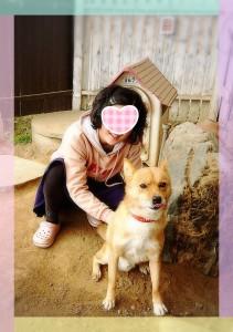 三和町のお天気レポーター マサさんのお宅のワンコちゃん❣ ミルク君です♂ とーっても人懐っこくて、番犬には向かない?!かも?!(笑) 会いたい人はきのことマサさんへGO!