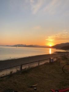 瀬戸内海浦島の朝