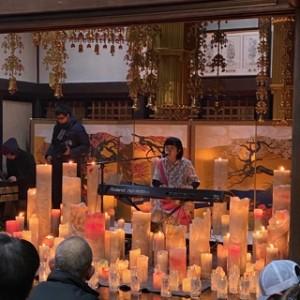 2月11日、東日本大震災の月命日。 台風19号での水害もひどかった中平窪のお寺を会場に行われたLOVE FOR NIPPONは、とってもあったかいイベントでした。