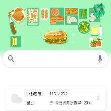 なんとGoogle検索もこの日はパン!! 偶然なのか、春だからなのか・・・(*´▽`*)