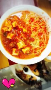 蒙古タンメン中本の辛~いラーメンが好きで、東京に住んでいた時にはよくお店に行っていました。 もうお店ではずいぶん食べていませんが、コンビニなどでインスタントが出ていますよね~♪あれも美味しいのですが、自分で再現してみました!! 蒙古タンメンのようですが、実は麻婆豆腐の下は北極で作ってみました(≧▽≦) 食べてみたい人いますか??(笑)