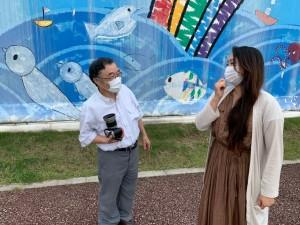 代表の村岡 寛(むらおか ゆたか)さんと、道の駅よつくら港でお話しを伺いました。