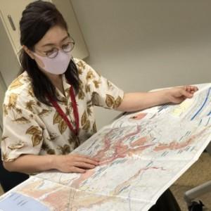 マップを広げたら広範囲が真っ赤に塗られていてビビる立原・・・この恐怖感は実はとても大事なんだと教えてもらいました。