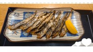 さかなの日。魚食べましたか~?? 写真はさかなの日・・・の次の日ですが(笑) 目光の干物。 いつも食べ慣れているはずの目光の干物ですが、とっても美味しかったので、思わず写真に残してしまいました✨(実はあまりの美味しさにお代わりしたので、これ二皿目なんです)✨♡