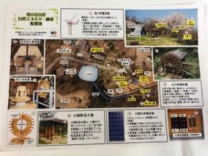 湯の岳山荘自然エネルギー施設 配置図