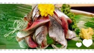 おいしそ~♡でもこれは今年の秋刀魚ではないのです~💦 早く今年の秋刀魚のお刺身が食べたいですね~♡