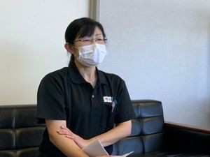 福島県赤十字センター いわき出張所 管理係長 九里 美佳さん